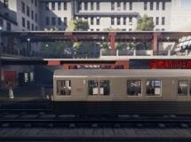 虚幻引擎4—地铁环境