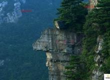 庐山风光锦绣谷悬崖峭壁美景近景到远景拍摄宣传片视频素材