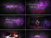 音乐类的包装动画模板——467 AEVH_audioborn