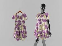 3D服装模型   女装裙子模特3D模型下载