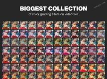 200多种电影级色彩校正选择器AE模板,超棒调色