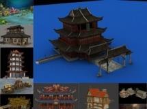 100个精品游戏场景模型-一品素材单体模型库下载