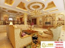 豪华别墅室内装饰模型