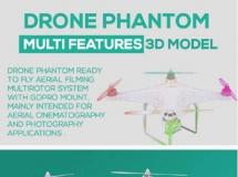 无人机模型 无人飞机模型 高品质模型