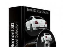 C4D, Element 3D模型库合集