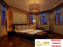 3D模型 个性卧室3D模型设计