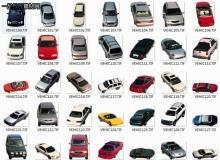 100个后期鸟瞰汽车素材下载