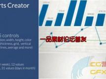 数据表格模板 Videohive Infocharts Creator
