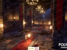 770组城堡室内地下武器角色资产环境UE4游戏素材资源