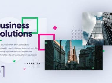 现代商务图片介绍展示片头 Modern Digital Presentation