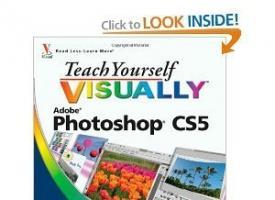 自学视觉上的Photoshop CS5