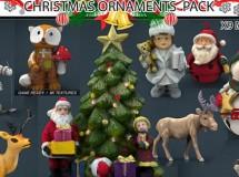 Cubebrush – Christmas Ornaments Pack