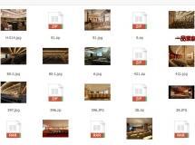 22个报告室3D场景
