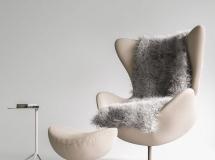 3D椅子模型  休闲沙发椅子脚蹬3D模型下载