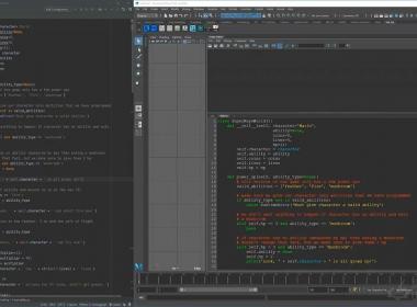 Maya Python语言绑定教程 Master Rigging & Python Scripting In Maya