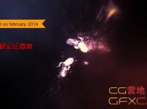 粒子冲击汇集Logo文字 VideoHive Particle Rush