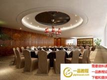 大型宴会厅模型