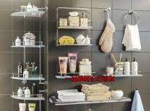 沐浴房配件和化妆品3D模型