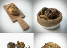 TurboSuqid - Bread Assets by BBB3viz