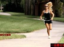 美女跑步的高清实拍视频素材1080P