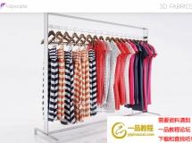 3D服饰模型  女装服装店铺衣服3D模型下载