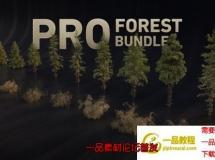 灌木植物树木3D模型 Gumroad – ALTER 49 – PRO Forest B ...