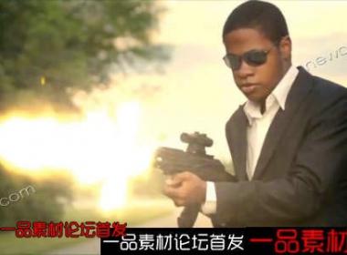 动作电影、枪战、爆炸特效等高清视频素材包