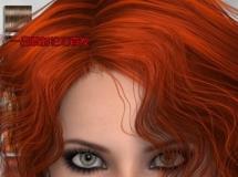 DAZ3DPoser模型,人物模型PHC Neomi hair