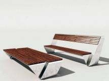3D椅子模型  花园休闲桌椅子3DMAX模型