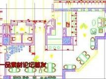 国际会议中心室内设计方案CAD全套施工图及效果图