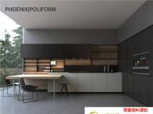 3D橱柜模型  现代厨房空间 3D模型下载