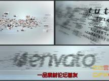图片汇聚文字Logo VideoHive Multi Video & Multi Text Logo Formation