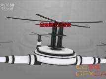 无人机飞行器屏幕展示动画高清视频素材 Television – Drone Animation