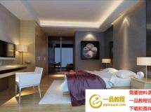 3D模型 舒适卧室模型设计素材