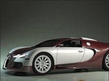 TurboSquid Bugatti Veyron高品质汽车CG模型