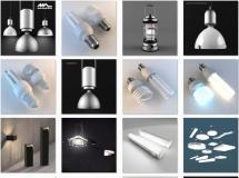 30个灯具模型