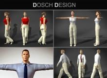 DOSCH 3D - Humans