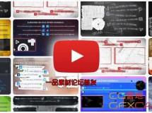网络视频网址宣传动画 YouTube End Screens Builder