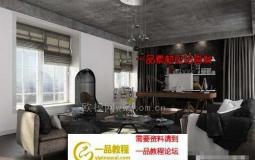 9套办公室室内内部场景3D模型