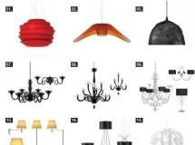 室内场景的高品质的3D灯模型24套下载