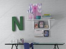 北欧儿童书桌椅组合 高品质模型下载