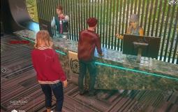 秋季情侣酒店登记入住姿势3D模型合集