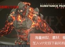 Substance Painter高精细贴图绘制训练视频教程 cmiVFX Sub ...