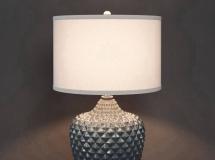 3D台灯模型  下载现代卧室台灯