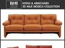 意大利家具 3D 模型室内设计 高品质室内家具模型