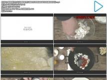 鳕鱼制作方式步骤美食烹饪篇食材准备摆盘装饰高清视频实拍