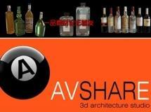 Avshare – 瓶子/时钟模型下载