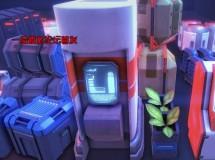 Cubebrush – Sci-Fi Objects BIG Pack