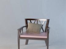 扶手椅子模型2018新款