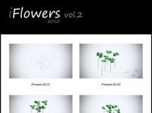 iCube R&D - iflowers2(草地植物),icube草地花卉植物模型下载